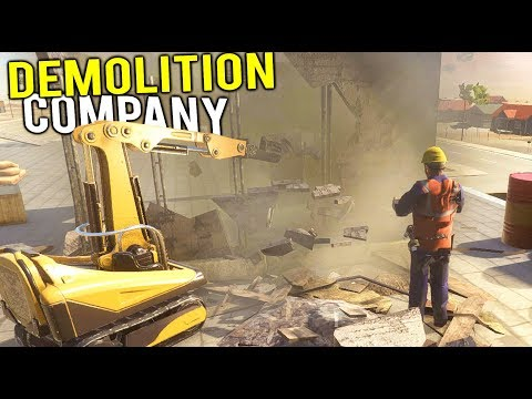 TEARING DOWN BUILDINGS WITH HEAVY MACHINERY! Our New Demolition Company - Demolish and Build 2018