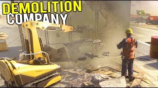 Video TEARING DOWN BUILDINGS WITH HEAVY MACHINERY! Our New Demolition Company - Demolish and Build 2018 download MP3, 3GP, MP4, WEBM, AVI, FLV Juli 2018