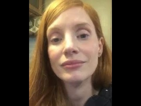 Jessica Chastain teary apology video after sharing article on alt left violence