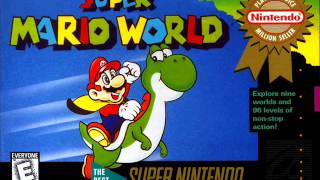 Super Mario World - Sub Castle Clear Fanfare (SNES) - HQ