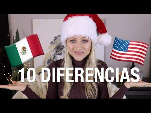 10 diferencias: NAVIDAD en México vs. USA | Superholly