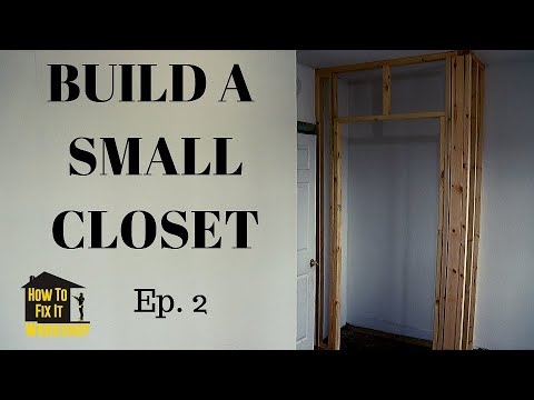 Download Framing and Building Closet Walls - $35,000 Short Sale House Episode #2