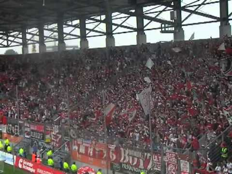 18 FC Koln fans version of The Bonnie Banks o' Loch Lomond @ FC Ingolstadt