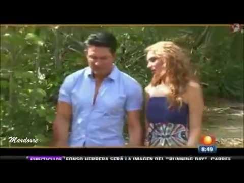Fernando Colunga y Blanca Soto graban escenas de amor en la Riviera Maya