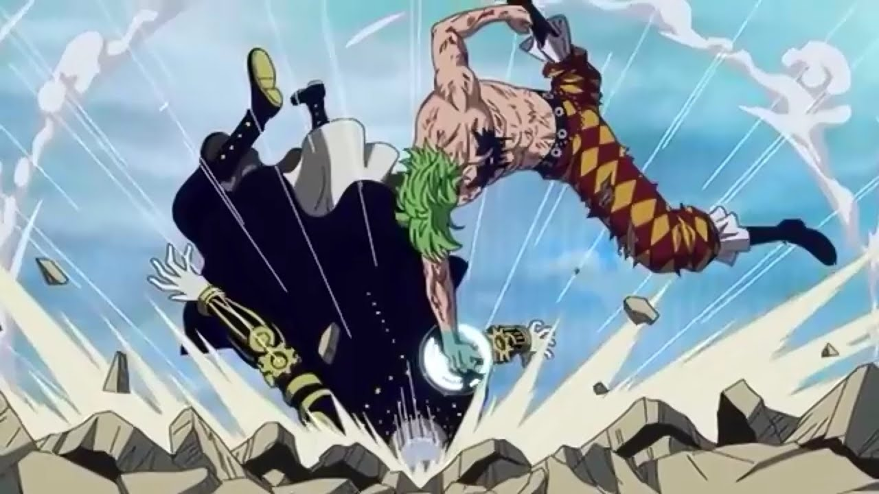 One Piece   Bartolomeo Vs Galdius    YouTube