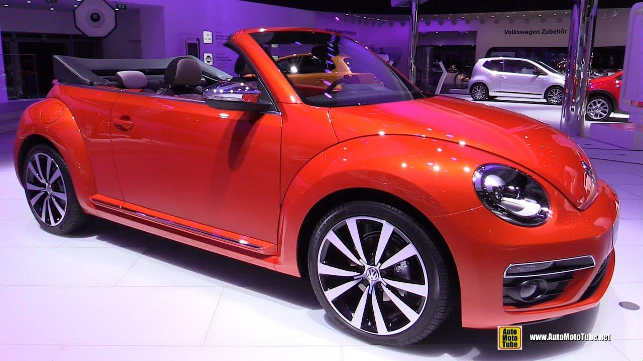 Volkswagen Beetle Convertible >> 2016 Volkswagen Beetle Wave Convertible - Exterior, Interior Walkaround - 2015 Frankfurt Motor ...