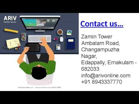 Best online tuition provider - ARIV