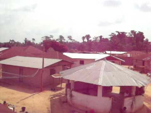 Area View of Duayee, Sustainable Village Initiative, Liberia