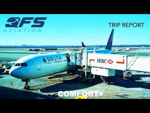 TRIP REPORT | Delta Airlines - 767 400 - New York (JFK) to Seattle (SEA) | Economy Plus