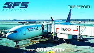 TRIP REPORT | Delta Airlines - 767 400 - New York (JFK) to Seattle (SEA) | Comfort+