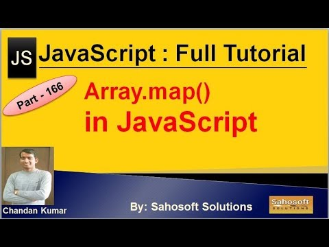 Array.map in JavaScript | JavaScript Full Tutorial in Hindi thumbnail