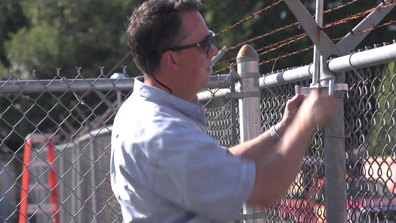 cast lighting led perimeter fence light