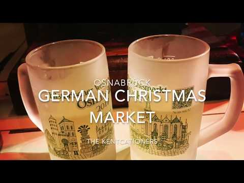 German Christmas Market in Osnabrück Germany - 2017