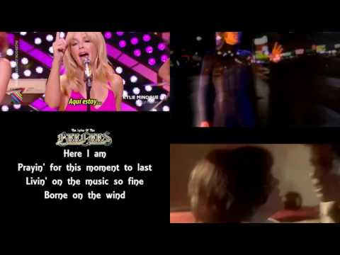 Kylie Minogue, The Bee Gees - Night Fever (LaRCS MultiVideo, by DcsabaS, 2016 Quotidien)