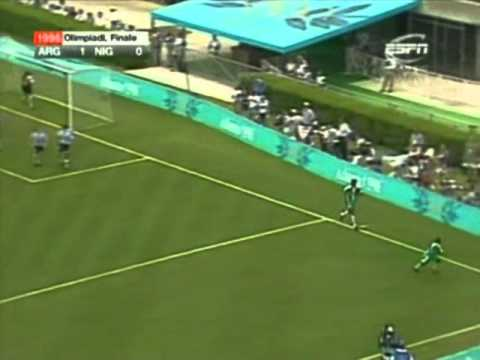 Argentina vs Nigeria 1996 Full Match