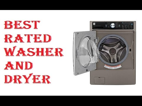 Best Rated Washer And Dryer 2017 YouTube