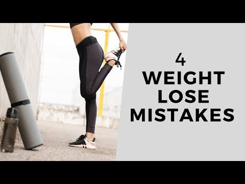 4 Training Mistakes People Make When Trying to Lose Weight