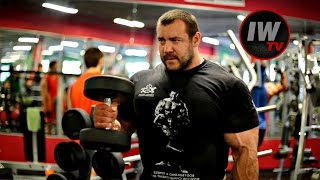 Тренировка груди и бицепса с Алексеем Троновым!