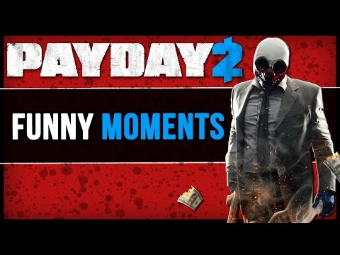 PAYDAY 2: Crimewave Edition - Taken Scene, Cheap Lowes Drills, Hilarious Running (Comedy Gaming)