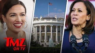 Alexandria Ocasio-Cortez Says Its Okay For A President To Smoke Weed   TMZ TV