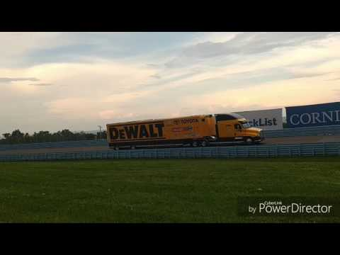 NASCAR Haulers arrive at WATKINS GLEN INT&39;L