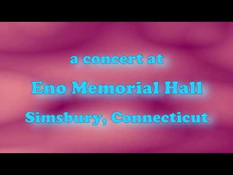 A Concert at Eno Memorial Hall, Simsbury CT, late 1950's?