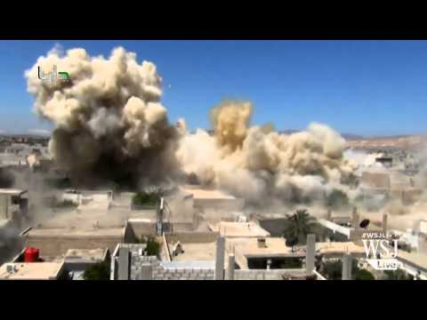 Barrel Bombing Campaign Intensifies in Aleppo, Syria