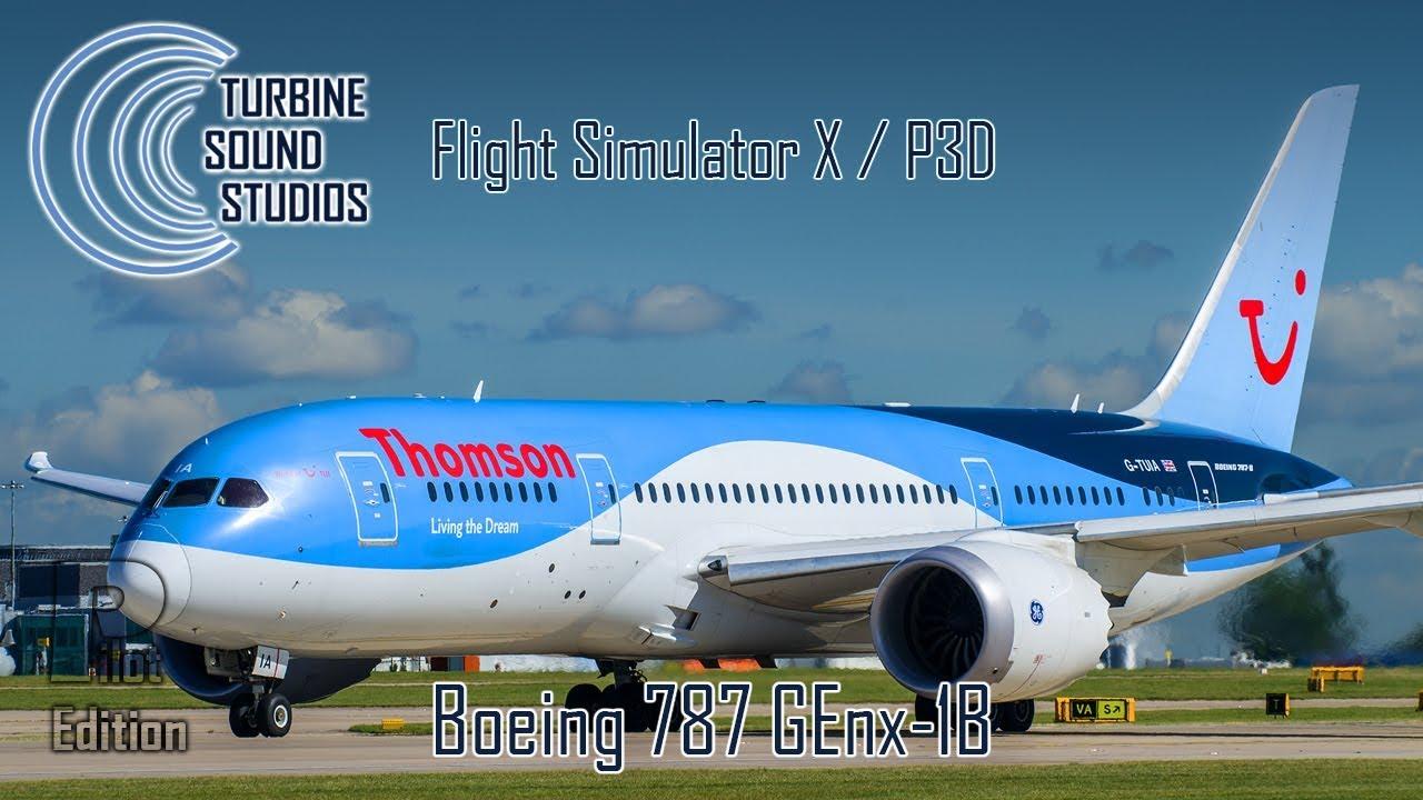simMarket: TURBINE SOUND STUDIOS - BOEING 787 GENX-1B HD