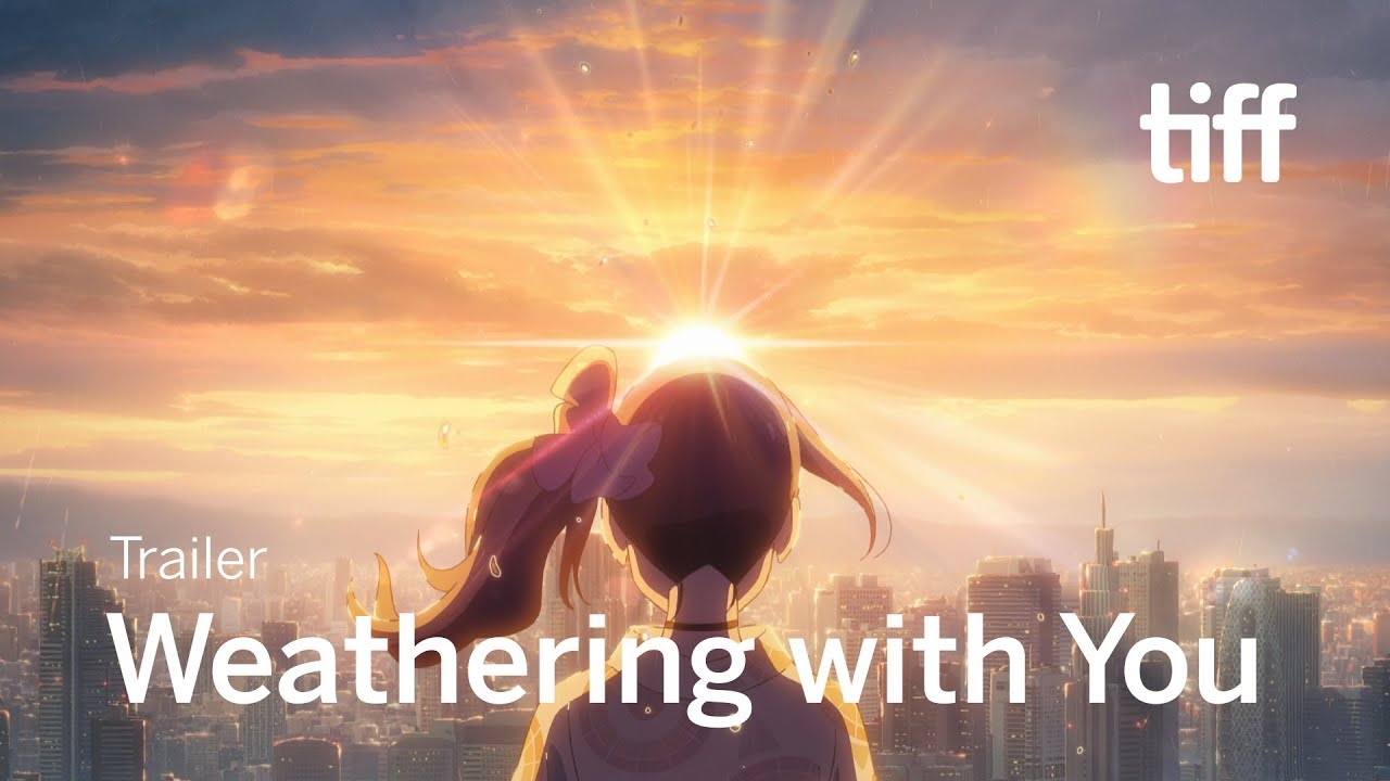Weathering With You Trailer Tiff 2019 Youtube