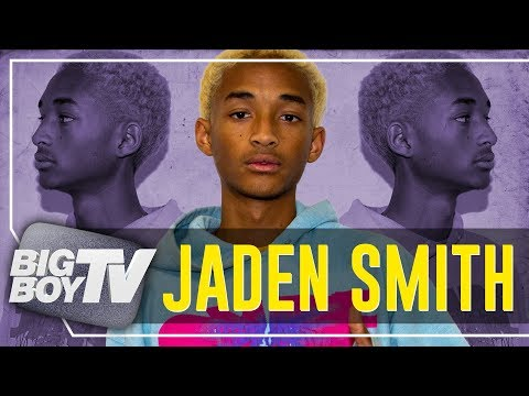 Jaden Smith on Icon Upcoming s Changing The World Thinking Different & A Lot More
