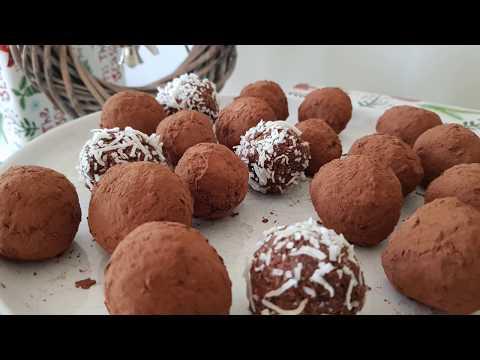 Vegan Chocolate Rum Balls (Nut Free Recipe)
