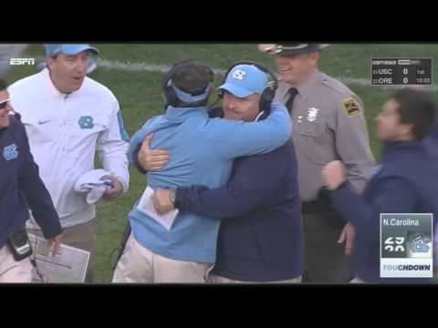 UNC Football: Quinshad Davis' Game-Winning TD vs. Virginia Tech