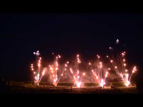 1st Galaxy Fireworks Ltd Perform an stunning Pyro Musical Display at The Royal Gardens of Hannover