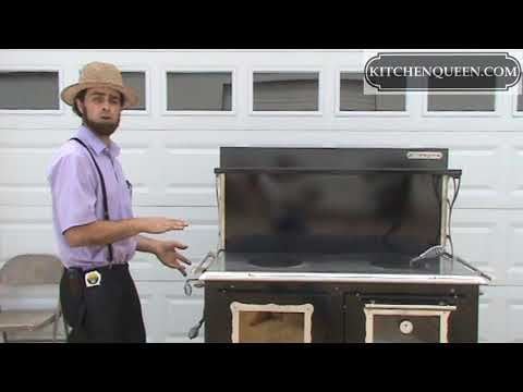 Wood Cook Stove - Amish Factory