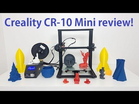 Creality CR-10 mini 3D printer - full review
