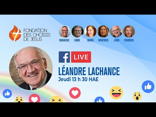 Facebook Live quotidien 01/10/2020 - Soyons des lumières