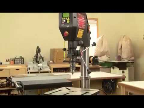 NOVA Voyager DVR Variable Speed Drill Press Features and Overview
