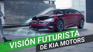 La visión futurista de Kia Motors plasmada un cortometraje