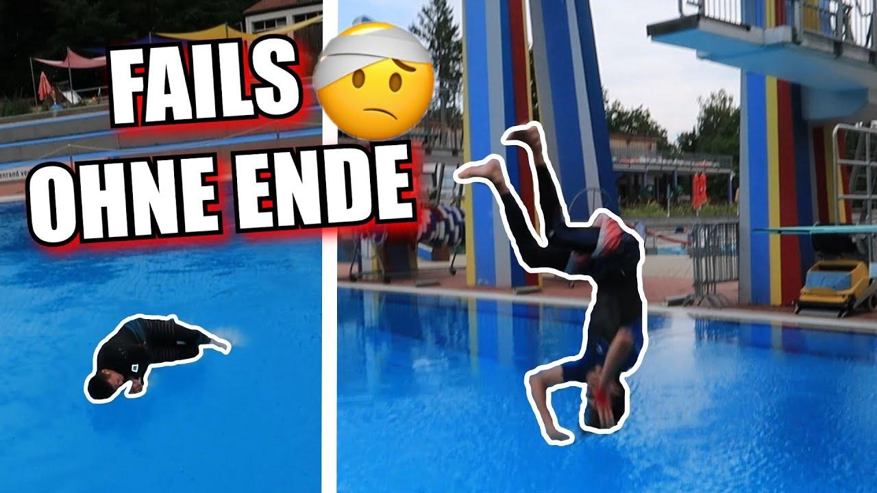 Vierfach-Salto & unzählige Fails im neuen Game of Loser !!