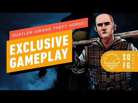 Rustler (Grand Theft Horse) - 8 Minutes of Gameplay