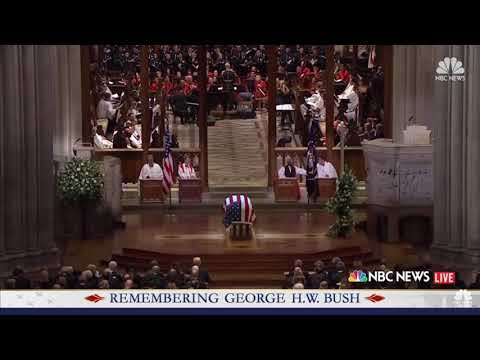 "Michael W. Smith sings ""Friends"" at President Bush's Funeral"