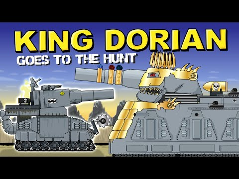 """""""King Dorian goes hunting"""" - Cartoons about tanks"""