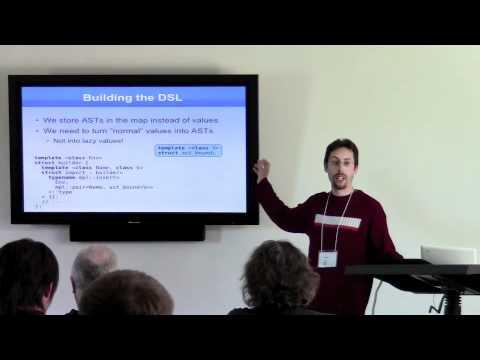 Zoltan Porkolab, Abel Sinkovics: Metaparse -- Compile-time parsing with template metaprogramming