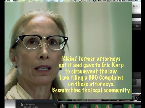 Boston Lawyer Eric Karp caught with Impounded Documents in Khan v  Karp Adam Klein eMusic lawsuit