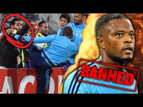 Patrice Evra To Be BANNED For Life After Attacking His Own Fans?! | Futbol Mundial