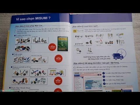 [MISUMI catalog] 2. MISUMI là gì ?
