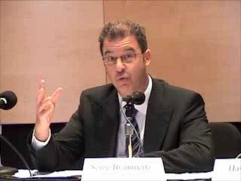 Prosecutor Serge Brammertz on the ICTY, August 2008