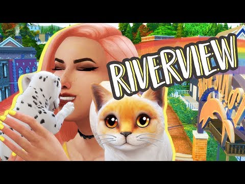 NEW PUPPY! | Riverview | The Sims 4: Cats and Dogs Lets Play Ep.3
