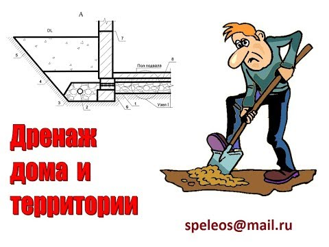 Дренаж и водопонижение участка: проектирование и расчет.