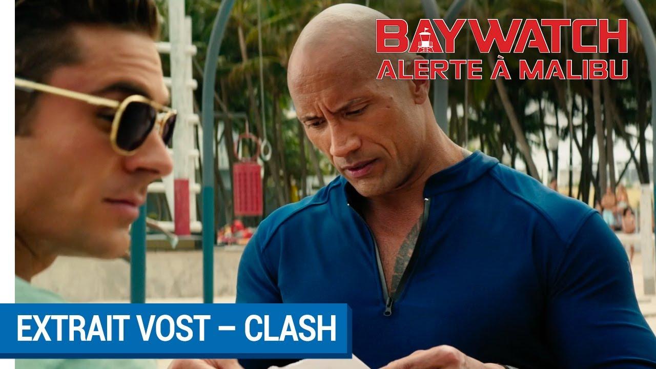 BAYWATCH – ALERTE À MALIBU - Extrait - Clash VOST [actuellement au cinéma]